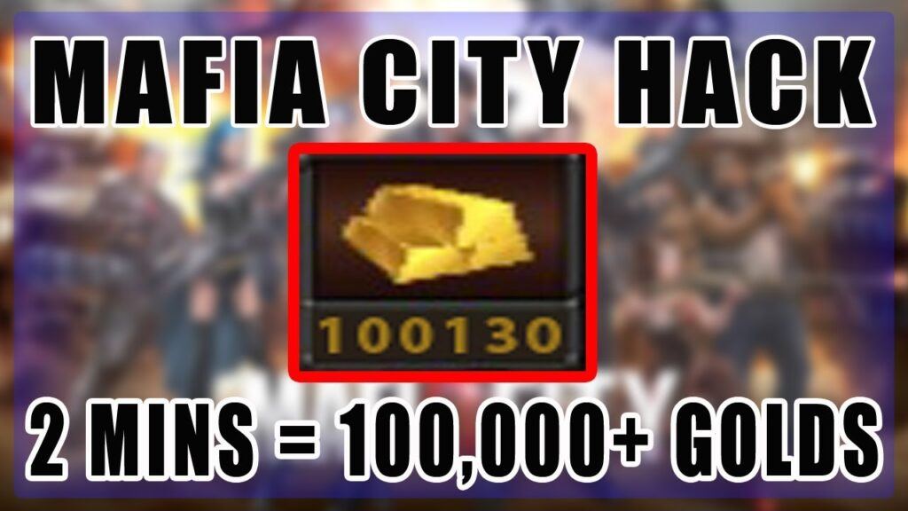mafia city hack 2021